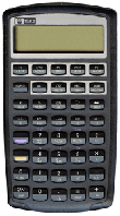 The HP 10BII Calculator
